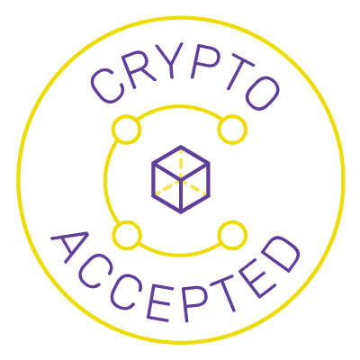 crypto accepted